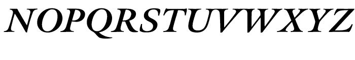 Meno Bold Italic Font UPPERCASE