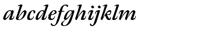 Meno Bold Italic Font LOWERCASE