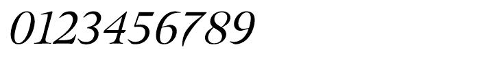 Meno Italic Font OTHER CHARS