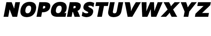 Mensa Bold Italic Font UPPERCASE
