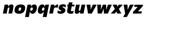 Mensa Bold Italic Font LOWERCASE