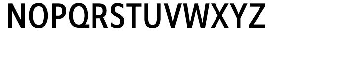 Mensa Condensed Regular Font UPPERCASE