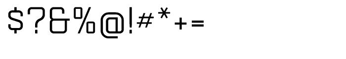 Mensura Slab Regular Font OTHER CHARS