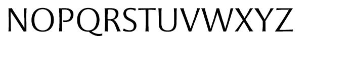 Mentor Sans Light Font UPPERCASE