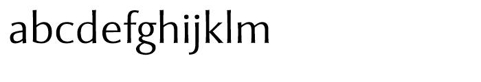 Mentor Sans Light Font LOWERCASE