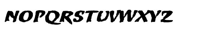 Merc Regular Font LOWERCASE