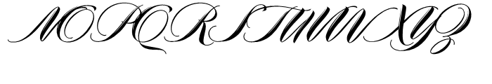 Meritage Pro Regular Font UPPERCASE