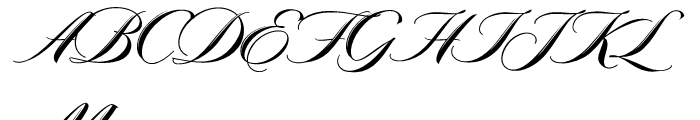 Meritage Regular Font UPPERCASE