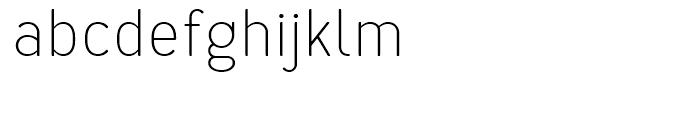 Merlo Light Font LOWERCASE