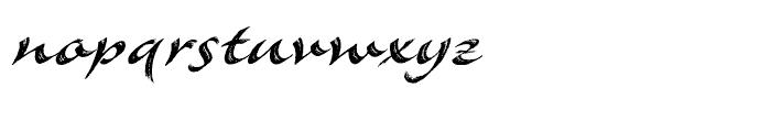 Meroe Bold Font LOWERCASE