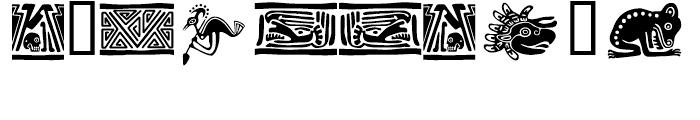 Meso Deko Regular Font OTHER CHARS