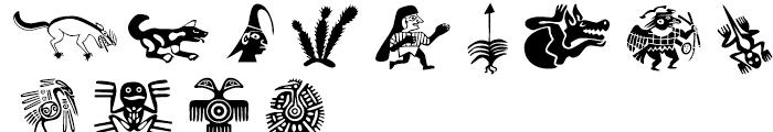 Meso Deko Regular Font LOWERCASE