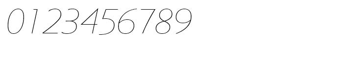 Metro Nova Thin Italic Font OTHER CHARS
