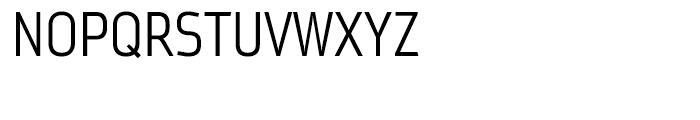 Metroflex Narrow 212 Light OSF Font UPPERCASE
