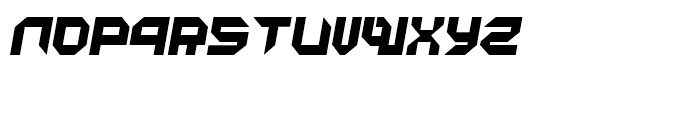 Metron Closed Italic Font LOWERCASE