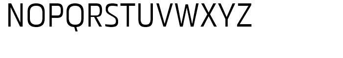 Metronic Condensed Light Font UPPERCASE