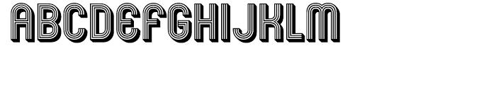 Mexcellent 3D Font LOWERCASE