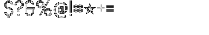 Mexcellent Regular Font OTHER CHARS