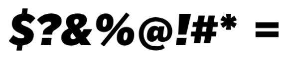 Mediator Black Italic Font OTHER CHARS
