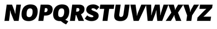 Mediator Black Italic Font UPPERCASE