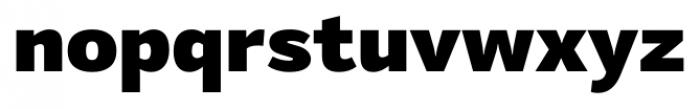 Mediator Black Font LOWERCASE