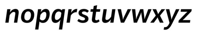 Mediator Bold Italic Font LOWERCASE
