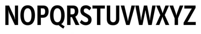 Mediator Condensed Bold Font UPPERCASE