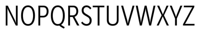 Mediator Condensed Light Font UPPERCASE