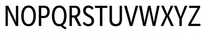 Mediator Condensed Regular Font UPPERCASE