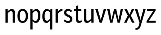 Mediator Condensed Regular Font LOWERCASE