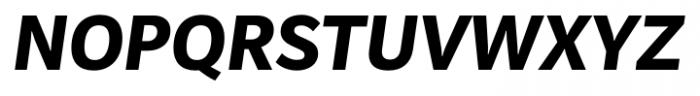 Mediator Extra Bold Italic Font UPPERCASE