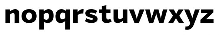 Mediator Extra Bold Font LOWERCASE