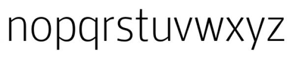 Mellnik Text SuperLight Font LOWERCASE