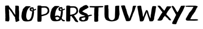 Meltow Brush Regular Font UPPERCASE