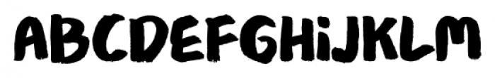Meltow Marker Regular Font LOWERCASE