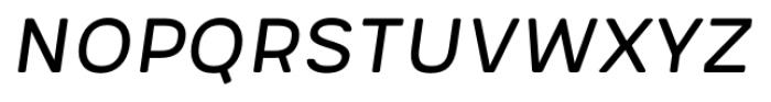 Meltow San 100 Italic Font LOWERCASE