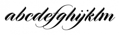 Meritage Regular Font LOWERCASE
