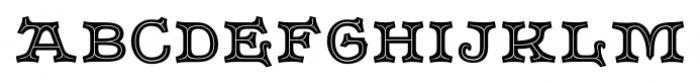 Merrivale No3 Regular Font LOWERCASE