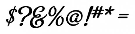 Metroscript Regular Font OTHER CHARS