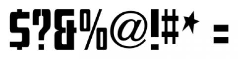 Mevada SRF Regular Font OTHER CHARS