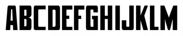 Mevada SRF Regular Font UPPERCASE