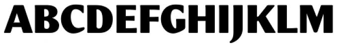 Meadow Pro Black Font UPPERCASE