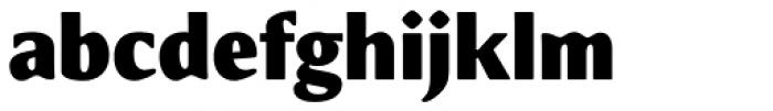 Meadow Pro Black Font LOWERCASE