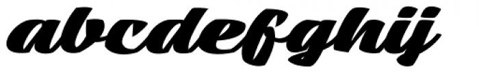 Mean Casat Fat Font LOWERCASE