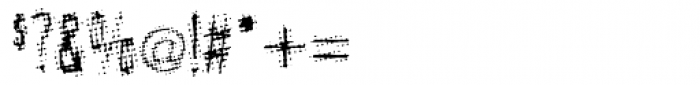 Meanstreak Regular Font OTHER CHARS