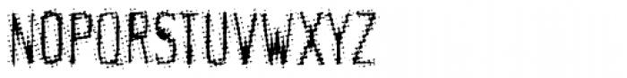 Meanstreak Regular Font UPPERCASE