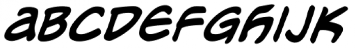 Meanwhile Uncial Font UPPERCASE