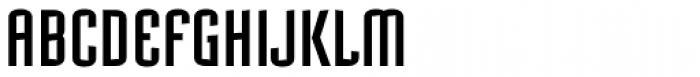 Mecanic Font UPPERCASE