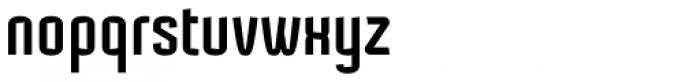 Mecanic Font LOWERCASE