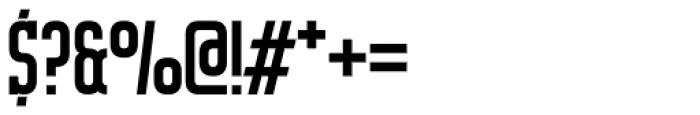 Mecano Serif Font OTHER CHARS